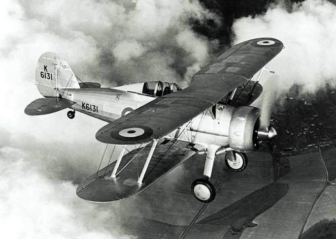 Roald Dahl was a fighter pilot