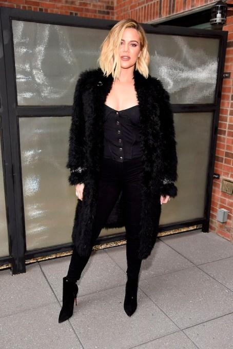 Khloé Kardashian attends Good American press luncheon