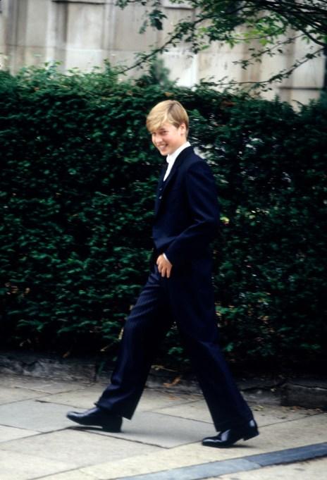 Prince William at Eton College