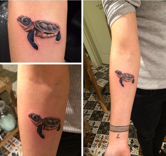 Turtle tattoo