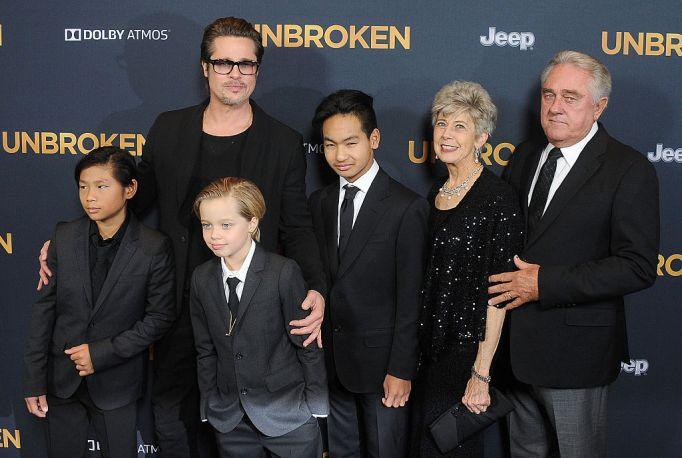 Brad Pitt's kids