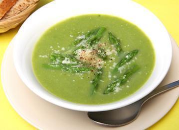 Silky Asparagus Soup