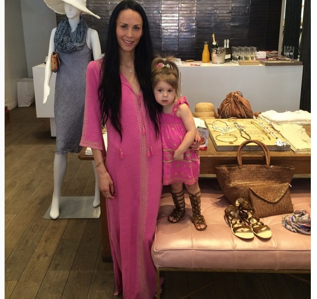 Jules Wainstein and daughter Rio