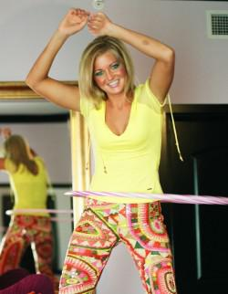 Fitness that's fun: The hula hoop