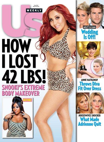 Snooki Us Weekly 2013
