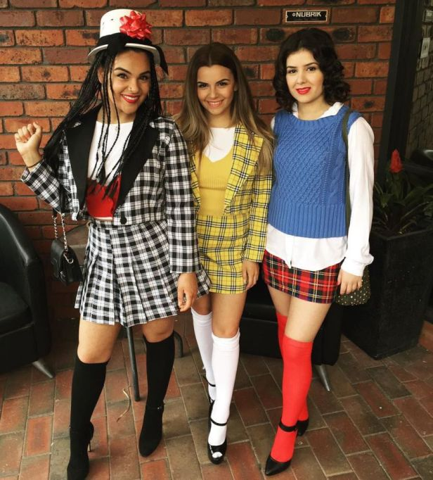 "DIY Halloween Costume Ideas from Instagram: The Cast of ""Clueless"" 