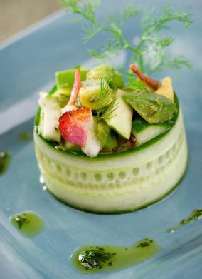 Fancy Avocado Apple Salad