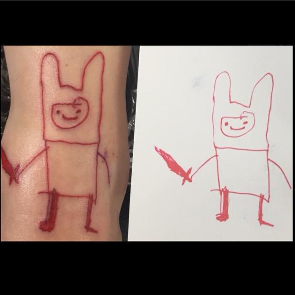 Adventuretime tattoo