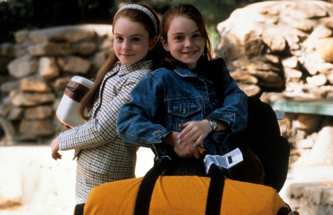 'The Parent Trap' with Lindsay Lohan