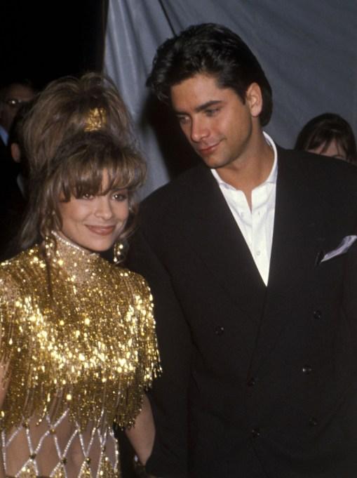The best of John Stamos' hair: John Stamos & Paula Abdul in 1990
