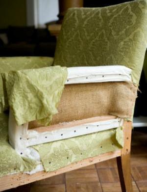 DIY: Reupholster your furniture