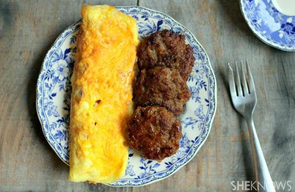 How to make a country omelet