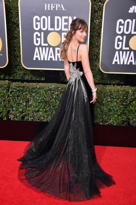 Best Golden Globes fashion 2018: Dakota Johnson