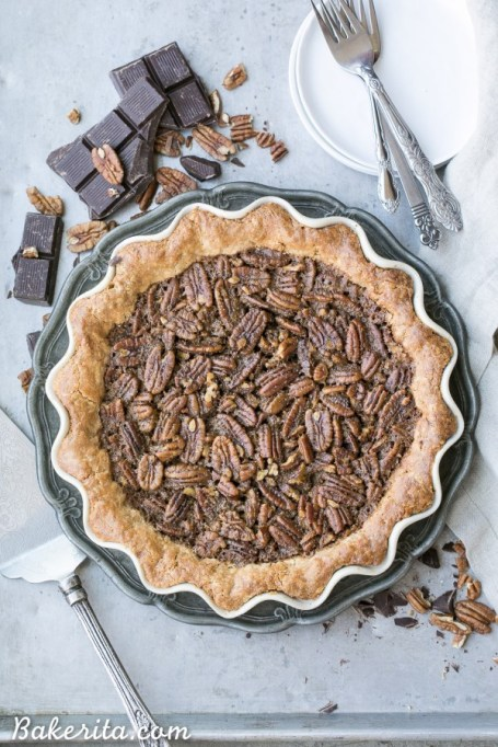 New Twists on Classic Thanksgiving Pies: Paleo Chocolate Pecan