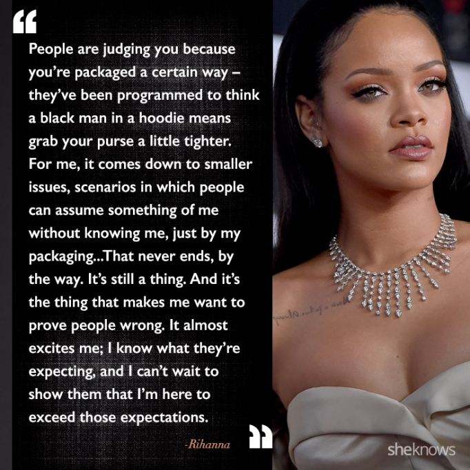 Rihanna race quote