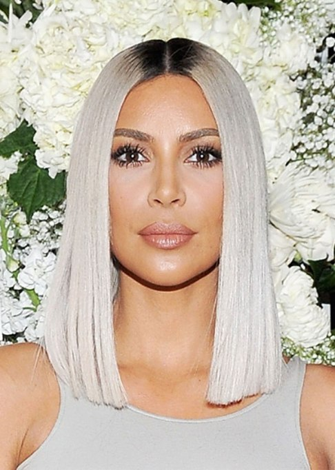 Dramatic Celebrity Hair Makeovers | After: Kim Kardashian West