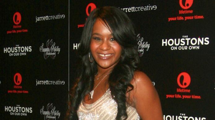 Whitney Houston's daughter Bobbi Kristina discovered