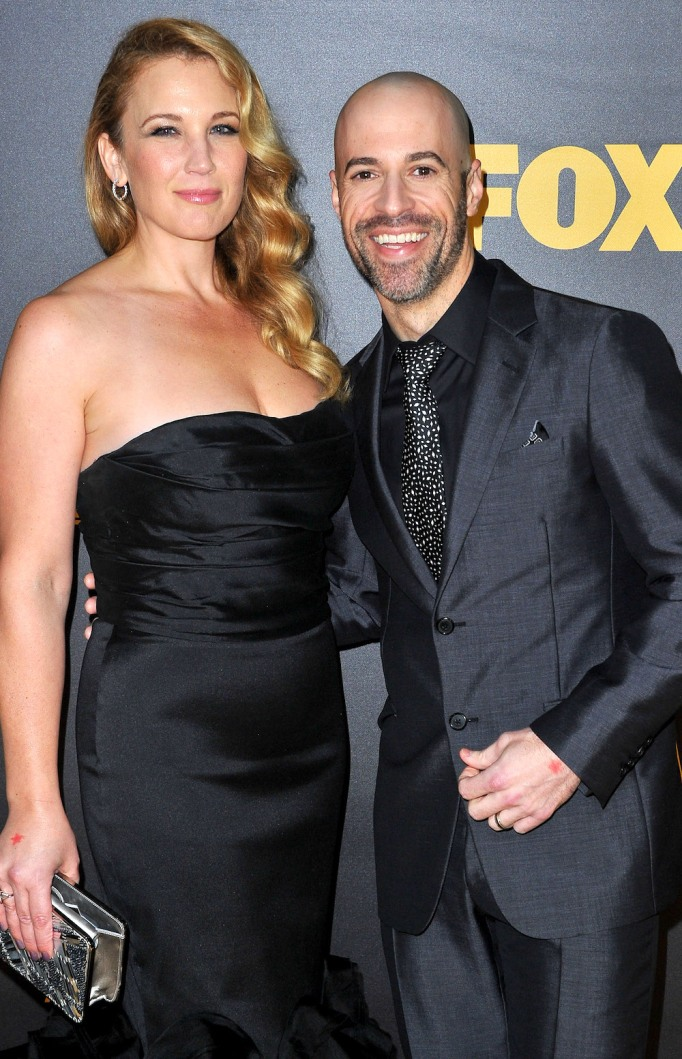 Chris Daughtry and Deanna Daughtry January 2016