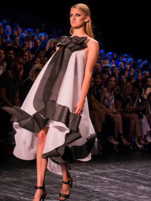 Project Runway formal dress