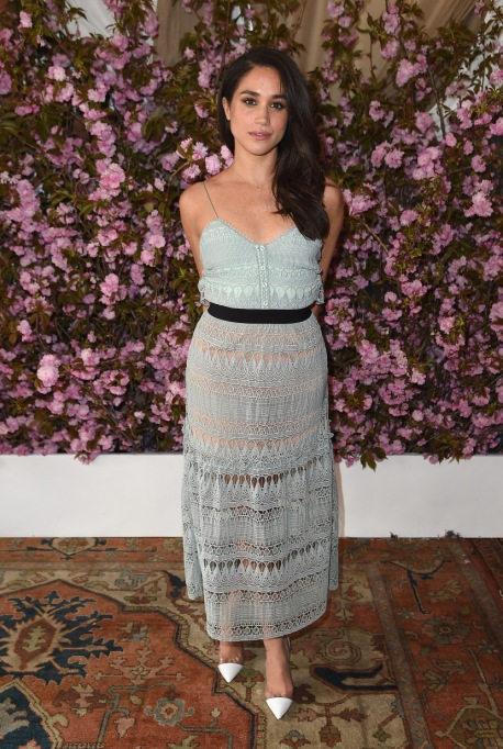 Meghan Markle's Most Fashionable Outfits | Attending Glamour and L'Oreal Paris Celebrate 2016 College Women Of The Year