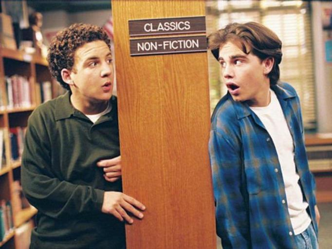 Corey and Sean in 'Boy Meets World'