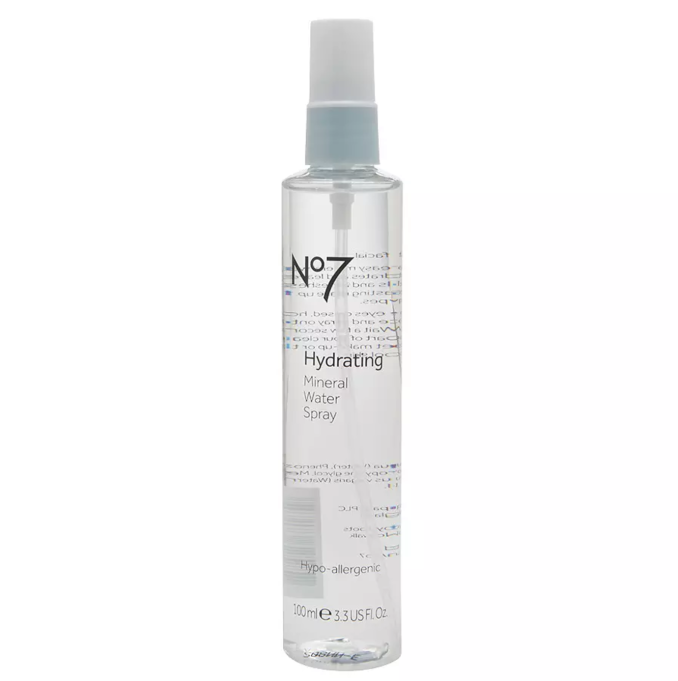 Best under face mists to try today | No7 Facial Hydrating Water Spray