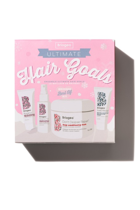 Beauty Products That Will Sell Out Fast This Holiday Season | The Briogeo Ultimate Hair Goals Holiday Kit