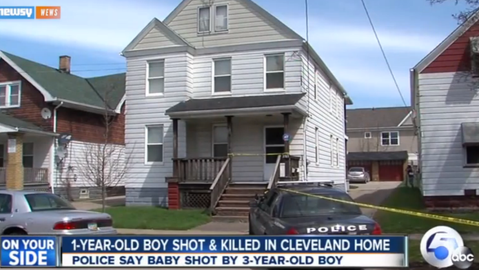 3-Year-old shoots and kills a 1-year-old: