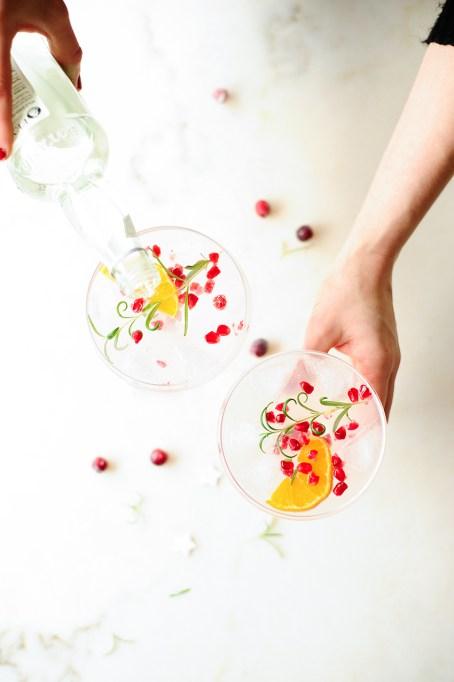 Elderflower Champagne Mimosas