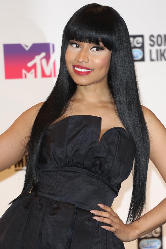 Nicki Minaj just posted nearly naked
