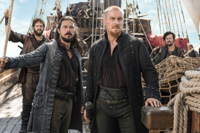 Black Sails will help you through the long, GoT-less winter