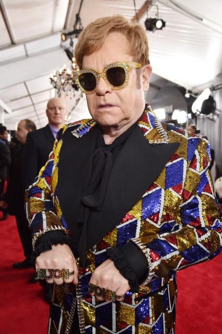 Grammys 2018 Best Dressed: Elton John