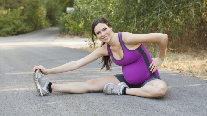 How much exercise during pregnancy is