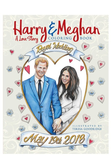 Royal Wedding Coloring Book