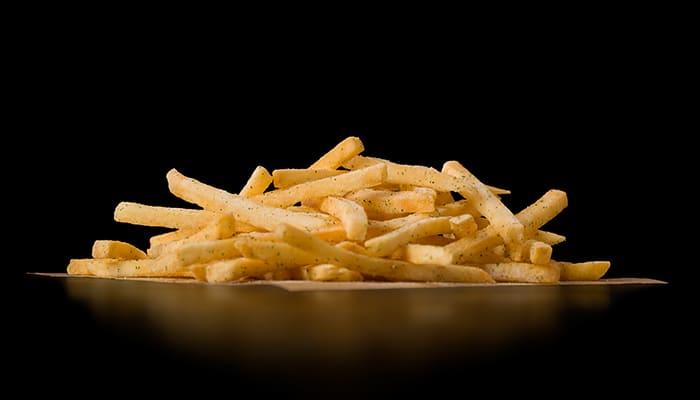 McDonald's wasabi fries