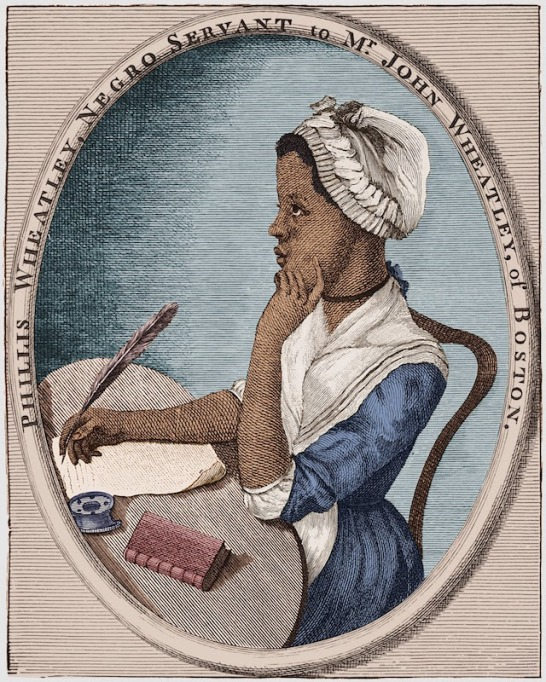 Sketch of Phillis Wheatley