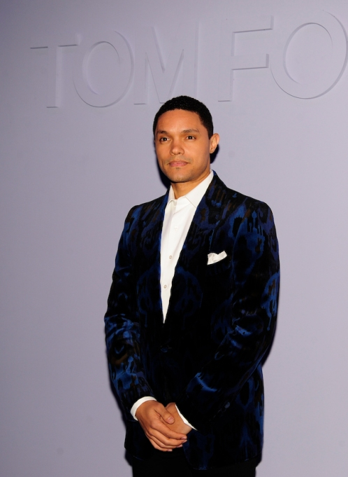 NYFW 2018 Celebrity Sightings: Trevor Noah