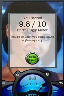 Ugly Meter iPhone App