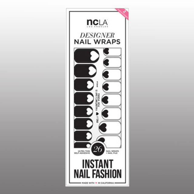 NCLA Valentine's Day Is For Vodka Nail Wraps