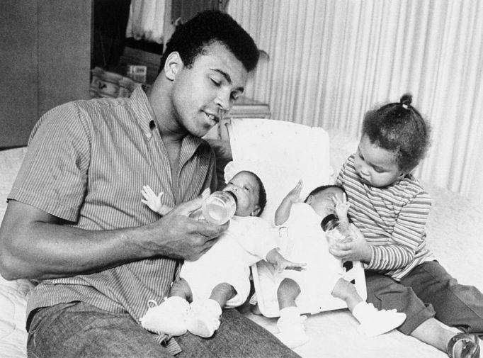 Muhammad Ali's kids