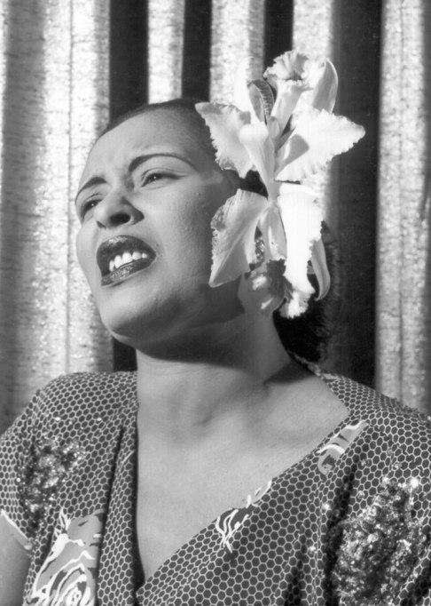 Billie Holiday Flower