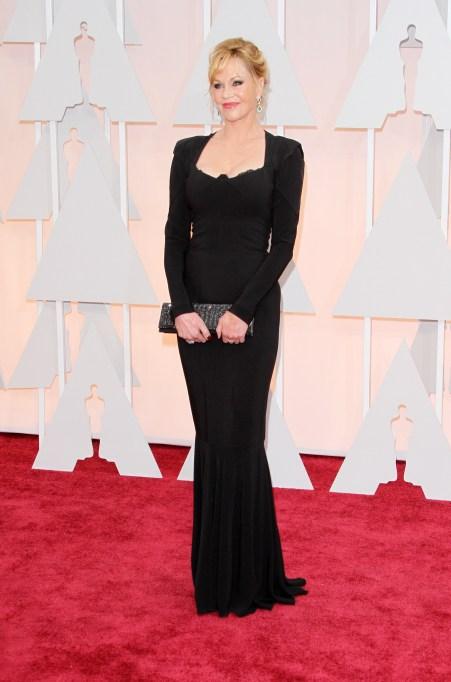 Melanie Griffith at the 2015 Oscars