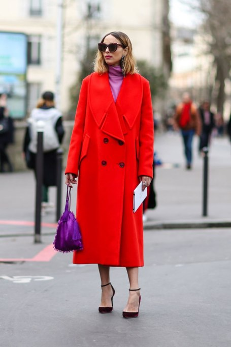 Ways To Wear A Turtleneck | Pop Of Pink