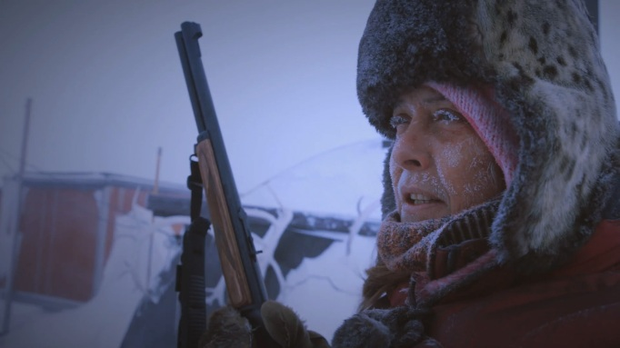 Life Below Zero frosted face