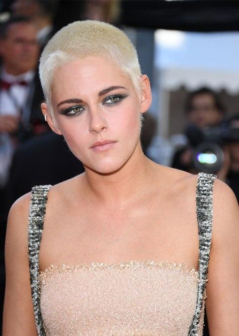 Dramatic Celebrity Hair Makeovers | After: Kristen Stewart