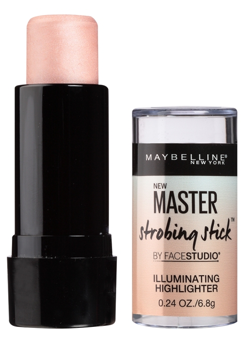 Our Favorite Under-$10 Drugstore Highlighters | Maybelline Facestudio Master Strobing Stick Illuminating Highlighter