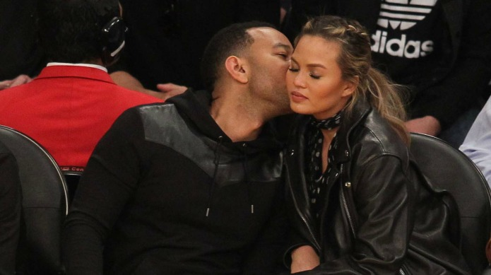 Celebrities at the Los Angeles Lakers
