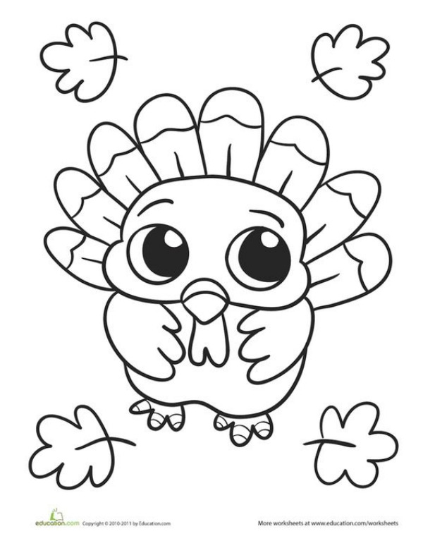 Printable Thanksgiving Coloring Pages to Keep Kids Busy ...