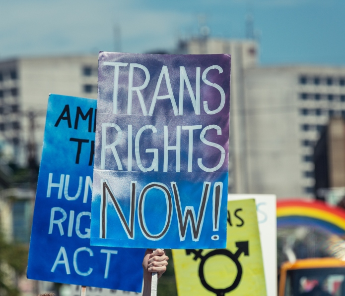 Being transgender got me banned from