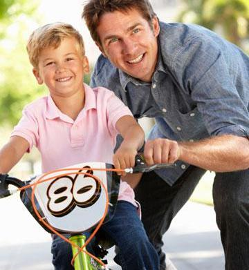 Help your child ditch the training